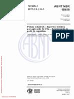 NormaPinturaRugosidadeABNT-NBR-15488=2007
