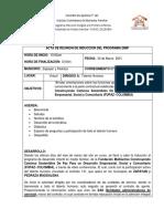 Acta de Reunion de Inducción Del Programa Difm-firmado