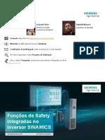 Webinar - Safety Integrated - Parte 1
