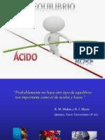 Fuerza de los acidos y bases