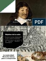 [Presentación] René Descartes; El Discurso Del Método