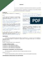 Material de Apoio I - RAZÃO, PROPORÇÂO E REGRA DE TRÊS (Reparado)