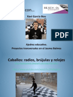 Ajedrez educativo. Proyectos transversales en el Jaume Balmes