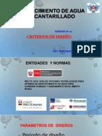 CRITERIOS DE DISEÑO POBLACION