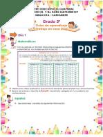 guias de aprendizaje grado 5