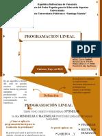 Programación Lineal.1.