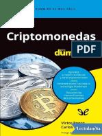 Criptomonedas para dummies - Victor Ronco Viladot