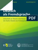 Deutsch als Fremdsprache (03-2016)