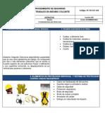 Estandar de Seguridad Para Trabajos en Andamio Colgante