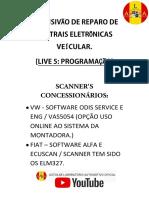 LIVE 5 INTENSIVÃO PROGRAMAÇÃO DETALHES TÉCNICO