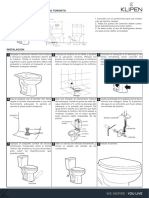 manual sanitario TORONTO LX-2749