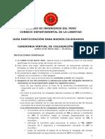 1. GUÍA participación Colegiados - Ceremonia de Colegiación