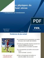 Exigences du football actuel(2015)