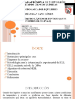 ELL pentane + n-formylmorpholine Equipo 13 (1)
