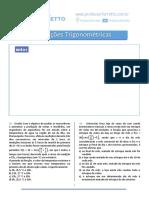 Lista de Questões de Matemática - Professor Ferretto