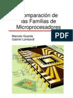 Comparación de Familias de Microprocesadores