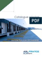 Catalogue General 2018 Aslfrance FranÇais