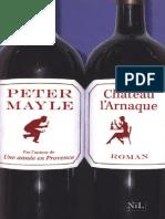 Mayle,Peter-Sam Levitt 1 Château l'Arnaque