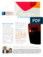 Liberty Christian Center's March Newsletter