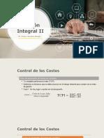 2. Control Costos y Cronograma