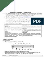 Diagnostico de Mùsica 3º Medio 2021