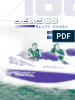 Seadoo 180 Challenger operation and maintenance manual | Exhaust Gas