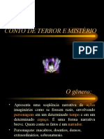Português - Conto de Terror e Mistério 1