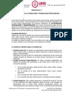 PRACTICA 1 INTRODUCCIÓN A LA FISIOLOGÍA Y TECNOLOGÍA POSTCOSECHA.