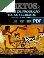 Jaime Pinsky - Modos de Produção na Antiguidade (1982, Global) - libgen.li