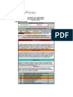 Informe de instalaciones maracaibo primera vuelta (22-2-11)
