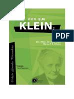 Livro Por Que Klein