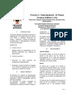 Práctica 3. Mantenimiento de Planta Termica
