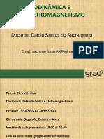 Aula Eletrodinamica e Eletromagnetismo 21.05.21