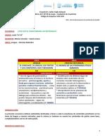 Secuencia didactica  Ciencias Naturales - Lengua   12 al 30 de abril