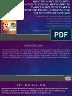 IDENTIFICACIÓN, MEDICIÓN Y EVALUACIÓN DE RIESGOS