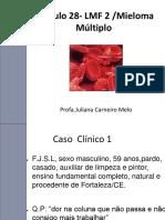 Modulo 28-  Mieloma Multiplo 2018.2