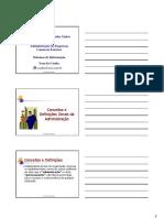 Sistemas de Informação - Parte 1 - Conceitos Gerais - Turma 2007