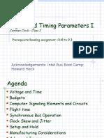 Class02 Signal Parameters I