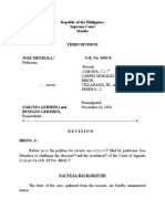 GR No 165676_Full Case_Mendoza Vs Germino
