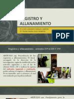 Exposición Registro y Allanamiento Grupo 2