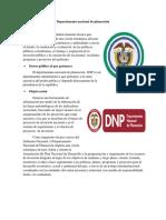 Manual Segunda parte Departamento nacional de planeación