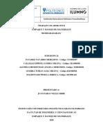 PROYECTO MATERIALES Y EMPAQUES. SEGUNDA ENTREGA... (1)