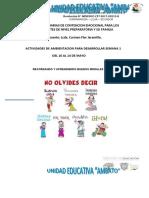 Ficha Semana 1 Preparaofria