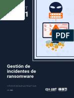 CCN-CERT(Gestion de incidentes ransomware)