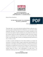 Interpretación EL PESCADOR de Toto La Momposina - Salmerón, S.