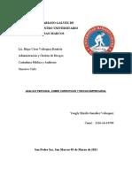 Analisis Personal Sobre Corrupcion y Riesgo de Fraude en Guatemala