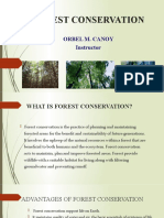 3. Forest Protection and Conservation
