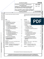 VDI 2035-1-2005 Prevention of Damage in Water Heating Installations - Scale Formation in Drinking Water and Water Heating Systems