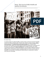 Alternatives to PolicingThe Case for Public Health and Community Development Investments
