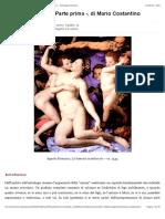 Matrimonio e figli - Parte prima -, di Mario Costantino - Astrologia Classica